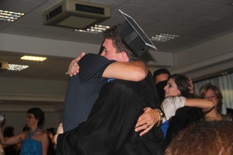 Familiares se emocionaram com a cerimônia. Confira mais fotos aqui